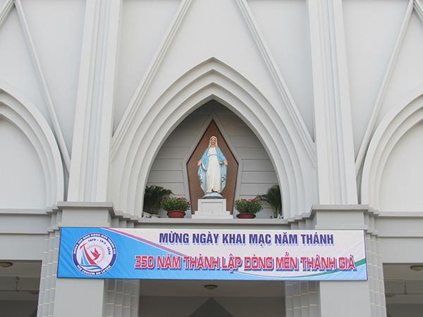 Hội Dòng MTG Cái Mơn Khai Mạc Năm Thánh 350 năm thành lập Dòng MTG tại Việt Nam