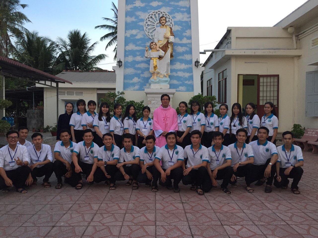 Nhóm sinh viên Công giáo và dự tu tỉnh Trà Vinh - tĩnh tâm Mùa Chay 2019