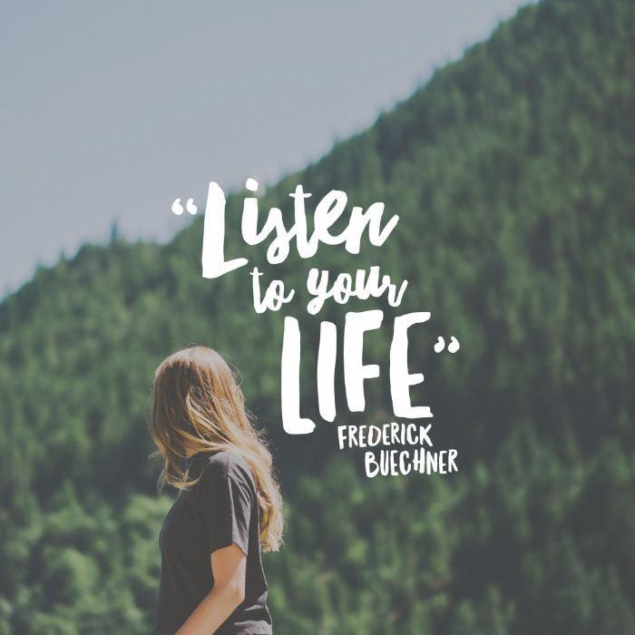 Lắng Nghe những âm thanh cuộc sống.