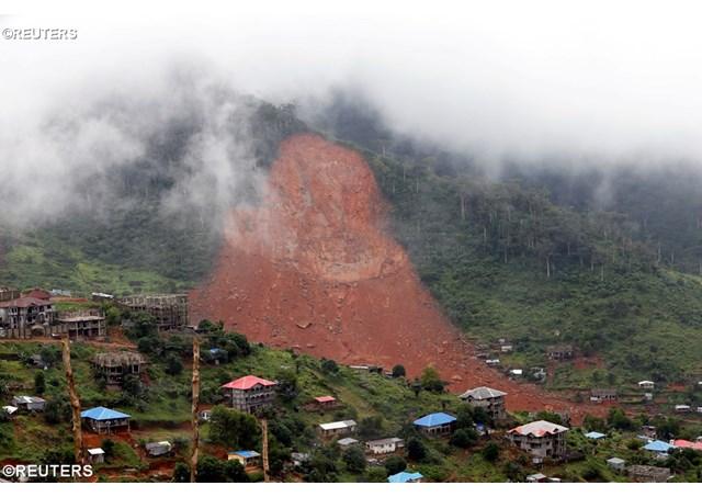 Đức Thánh Cha chia buồn vụ đất lở ở Sierra Leone