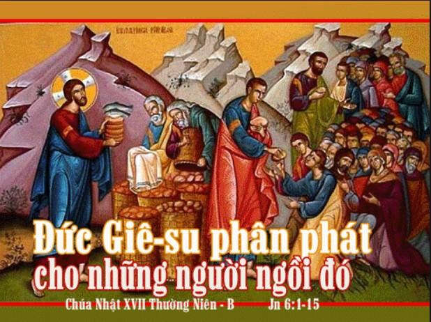 CHÚA NHẬT 17 THƯỜNG NIÊN – B