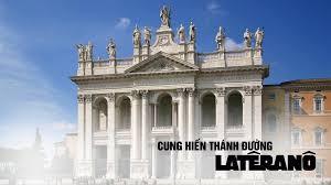 Kỷ niệm cung hiến Đền Thờ Laterano