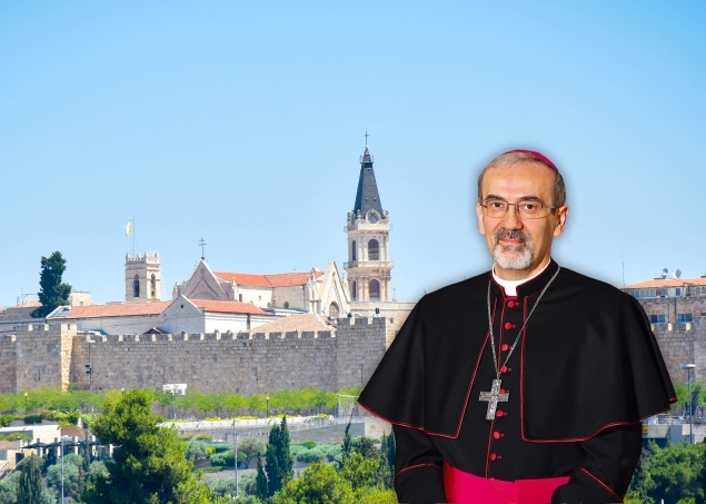 Đức Tổng Giám Mục Pizzaballa được bổ nhiệm làm Thượng phụ Jerusalem