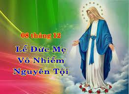 Lời nguyện tín hữu - Chúa nhật Lễ Đức Mẹ Vô Nhiễm