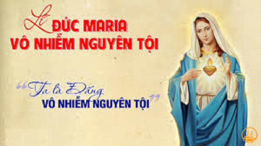 Lời nguyện tín hữu - Lễ Đức Mẹ Vô Nhiễm