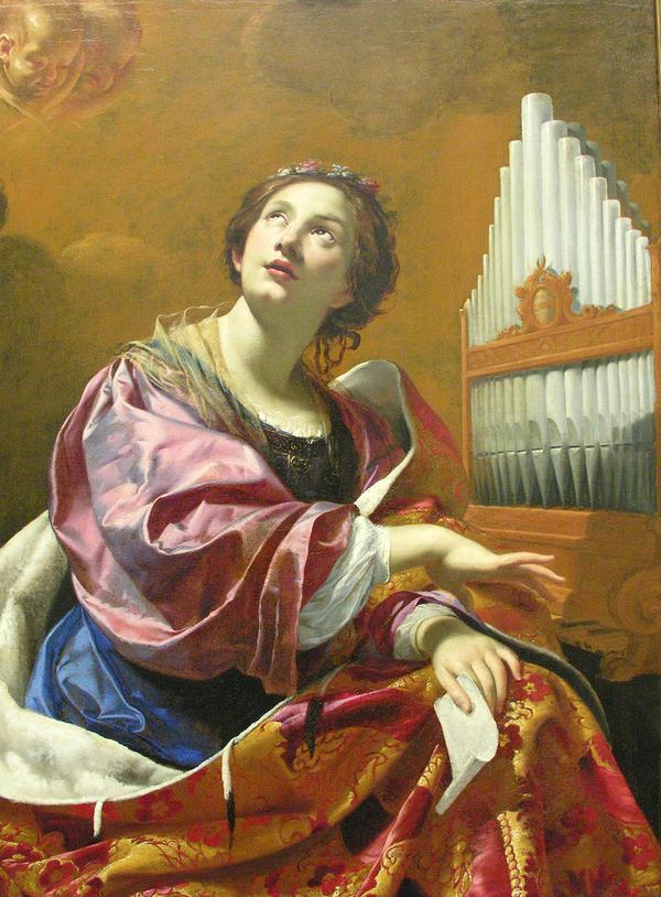 Thánh  Cecilia Đồng Trinh Tử Đạo