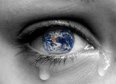 Trái Đất có thể khóc không ?