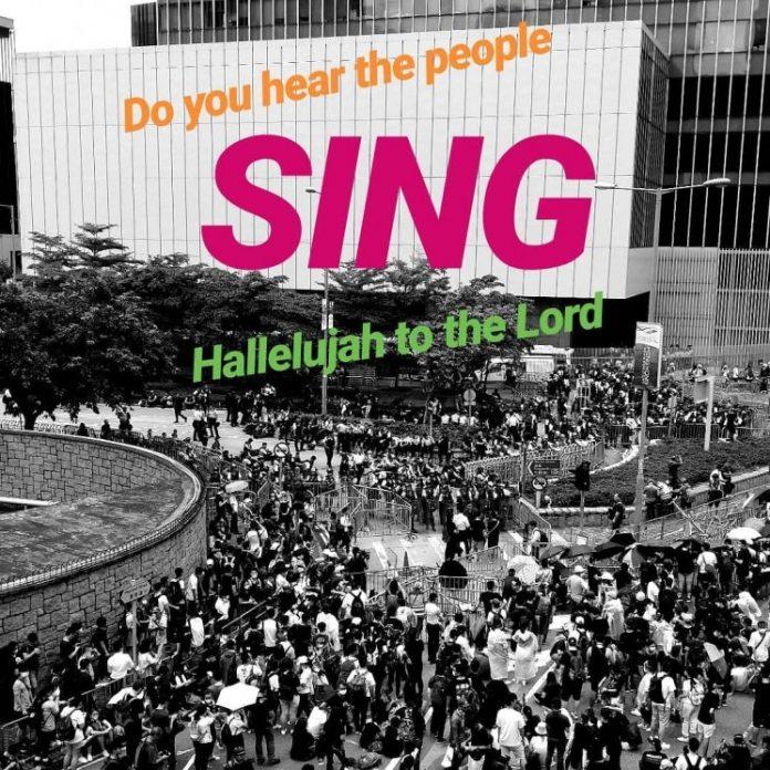 Bài hát kitô giáo như tiếng kêu trong các vụ biểu tình ở Hồng Kông