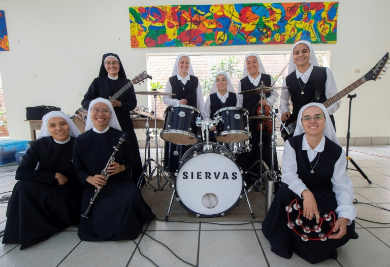 Ban nhạc Rock của các nữ tu trẻ sẽ trình diễn tại Đại Hội Giới Trẻ Thế Giới Panama