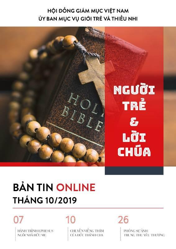 Bản tin Online tháng 10.2019 của UB Giới Trẻ và Thiếu Nhi