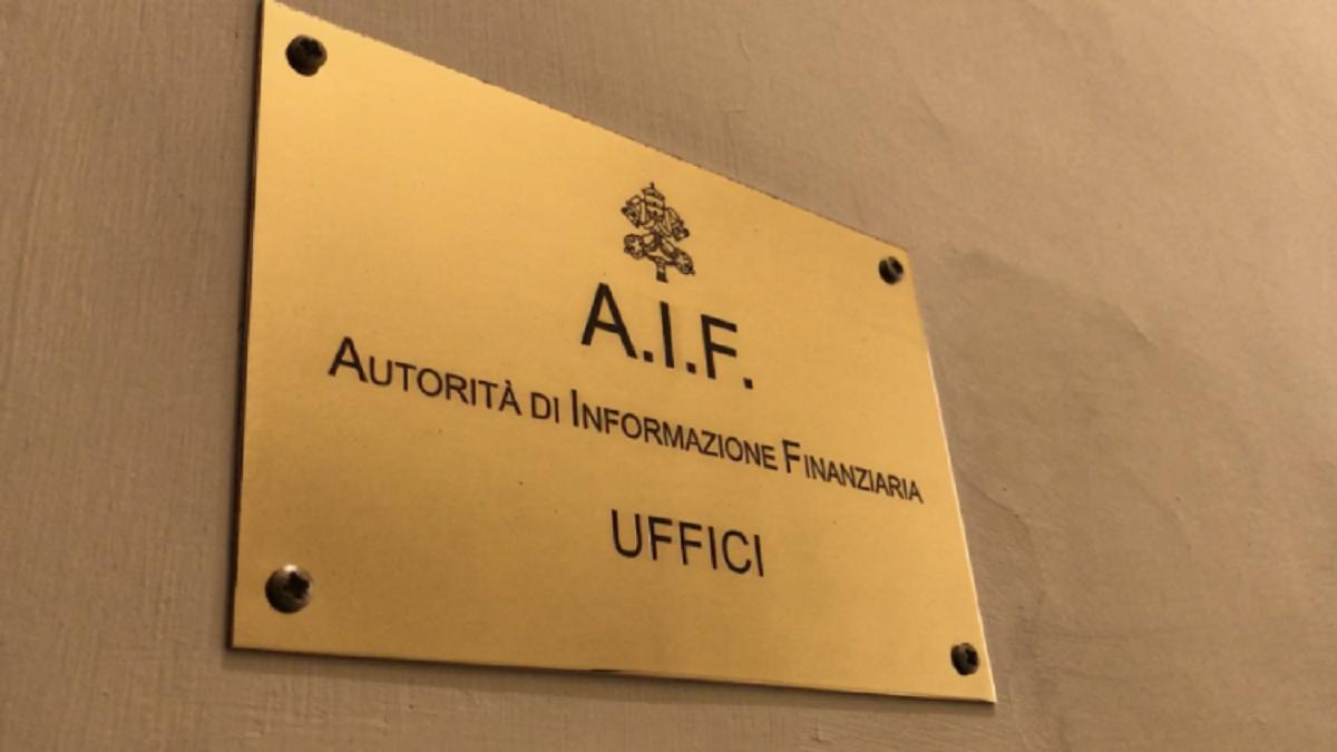 Báo cáo của Cơ quan Thông tin Tài chính Vatican trong năm 2019