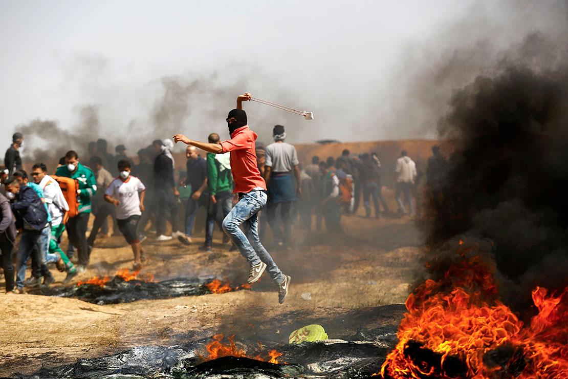 Bạo lực bùng lên tại dải Gaza