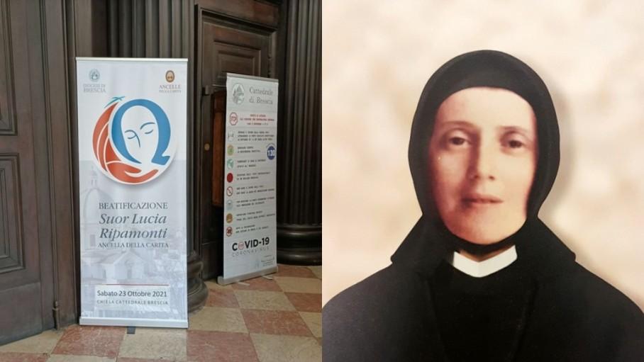 Lễ phong chân phước Lucia Đức Mẹ Vô Nhiễm tại Brescia