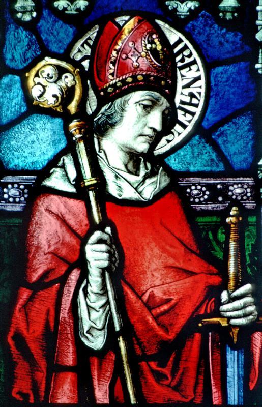 Thánh Irênê Giám mục, Tử đạo (130-202)