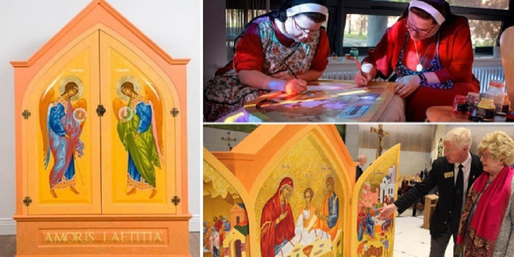 Bức ảnh Thánh Gia tuyệt mỹ cho Đại hội Gia đình Công giáo Thế giới ở Ireland