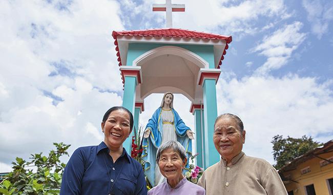 Các nữ tu Dòng Chúa Quan Phòng mang tương lai đến cho trẻ em vùng núi