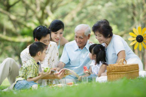 Các ông bà nội ngoại chìu cháu quá… có làm hư cháu không?
