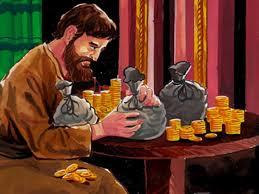 Cẩn thận khi sử dụng tiền của