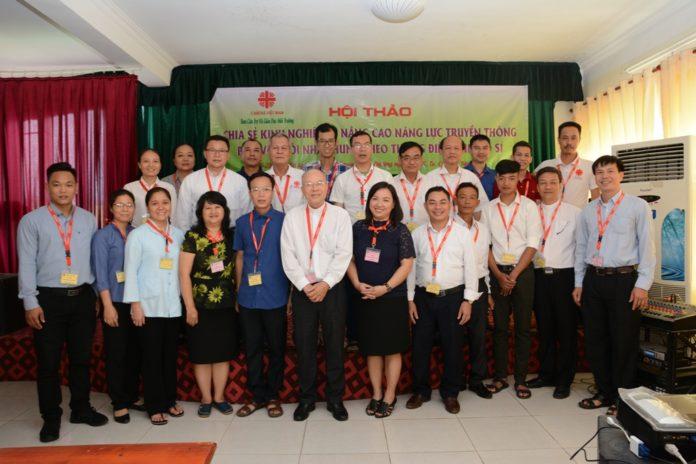 """Caritas Việt Nam: Hội thảo """"Chia sẻ kinh nghiệm và nâng cao năng lực truyền thông bảo vệ ngôi nhà chung và giảm thiểu, thích ứng với biến đổi khí hậu"""""""