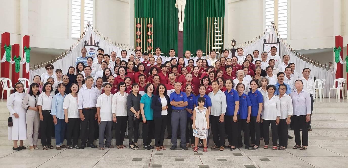 Caritas Vĩnh Long: Mừng bổn mạng