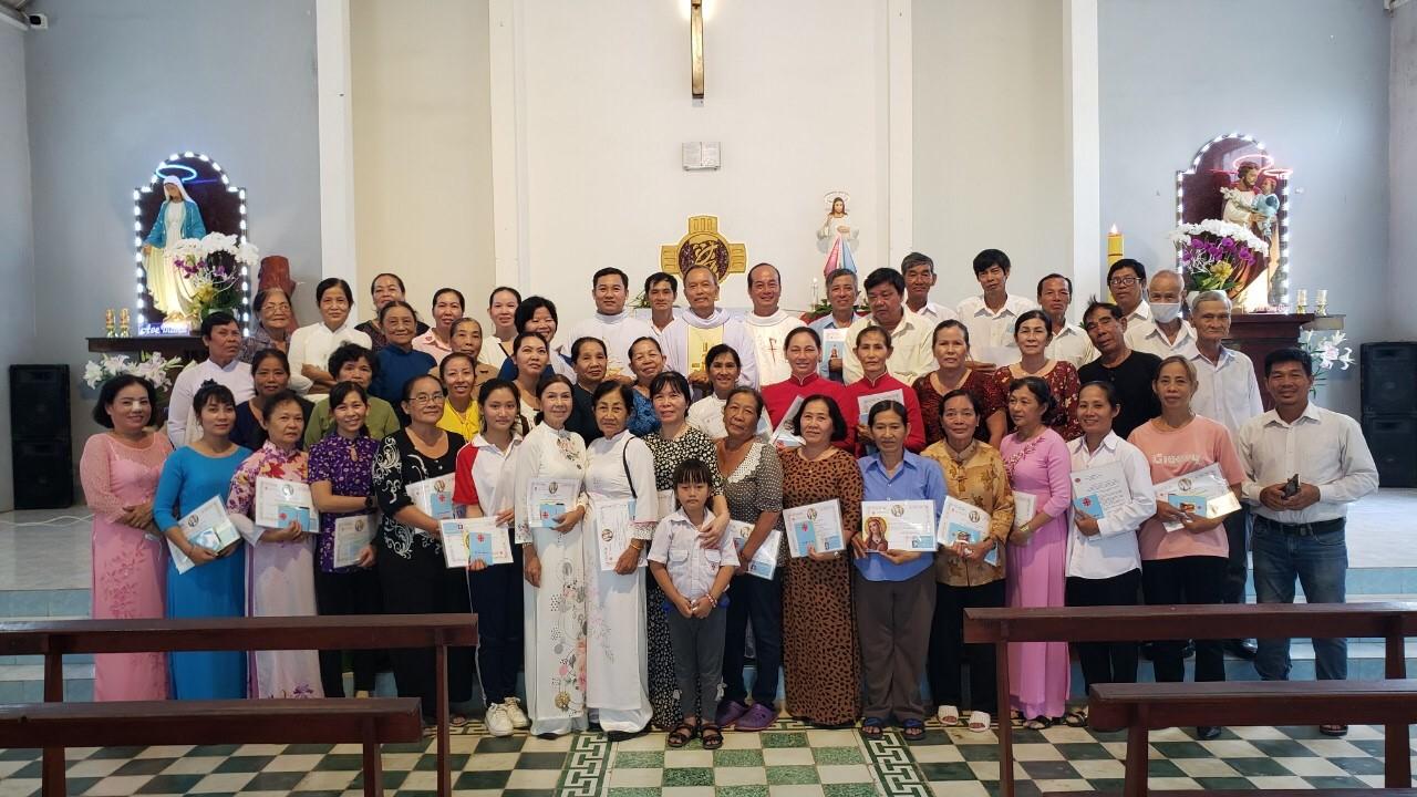 Caritas Vĩnh Long: Thâu nhận hội viên