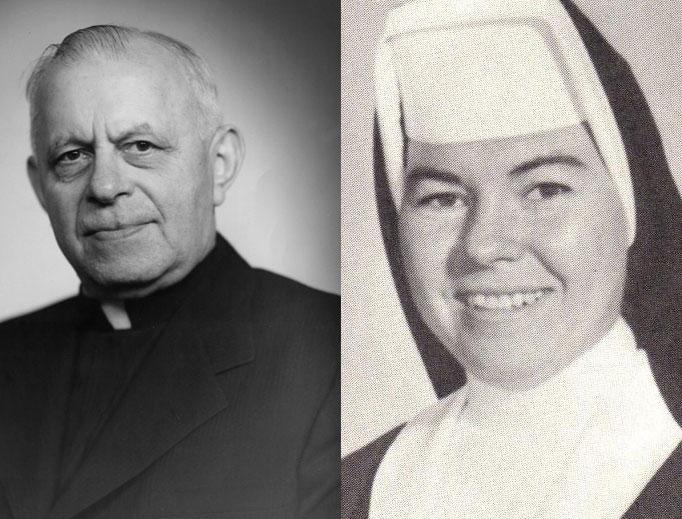 Cha George Weinmann và sơ Lilian McLaughlin, hai vị tử đạo của Thánh Thể