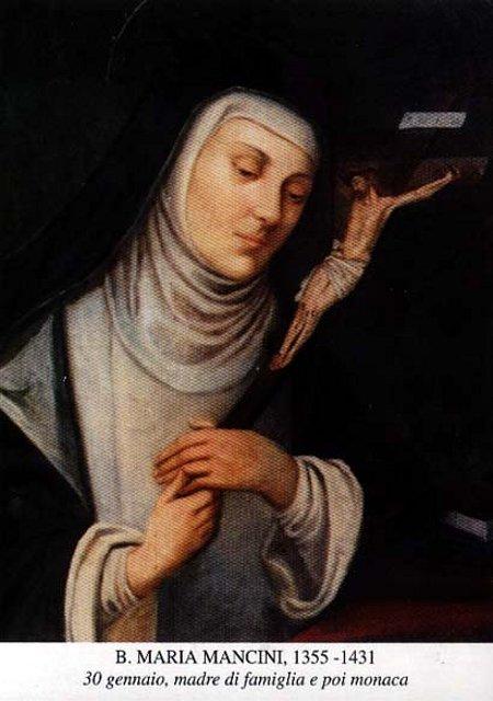Chân phước Ma-ri-a Man-xi-ni