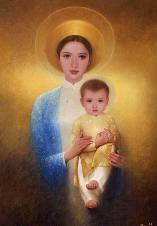 Chiêm ngắm Mẹ Maria: nghĩ về thiên chức làm  mẹ