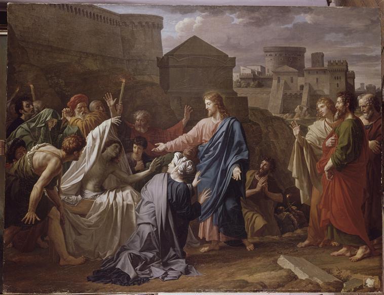 Chúa Giêsu cho người chết sống lại