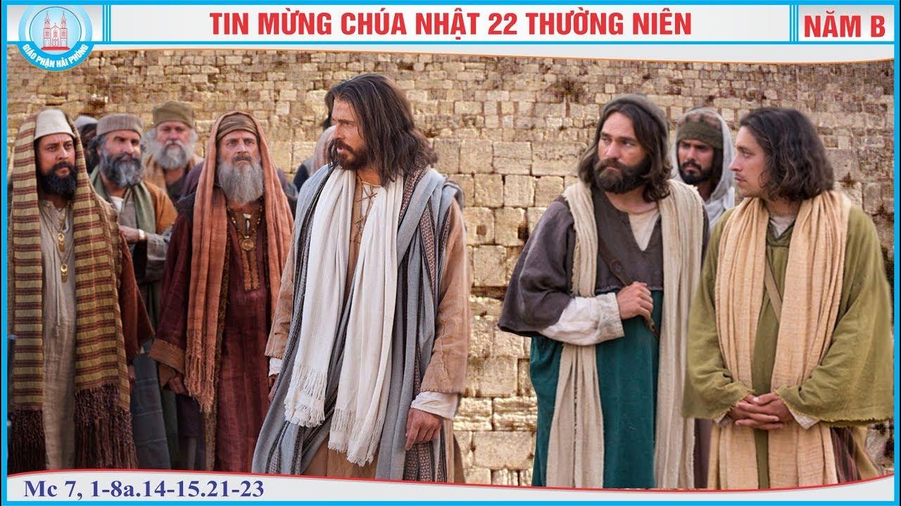 CHÚA NHẬT 22 THƯỜNG NIÊN – B