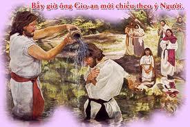Suy niệm Lễ Chúa Giêsu chịu Phép Rửa- Năm C