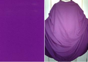 Có qui định về sắc thái của màu tím phụng vụ Mùa Vọng không?