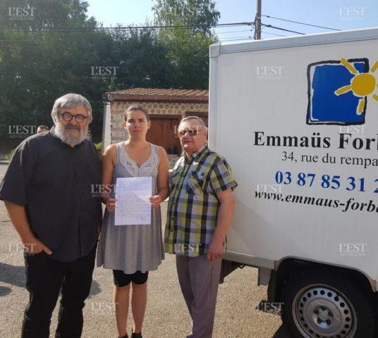 Cộng đoàn Ê-mau ở Forbach nhận tiền thừa kế 950 000 âu kim