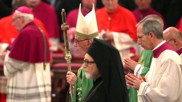 ĐTC chủ sự Kinh Chiều cầu nguyện cho sự hiệp nhất các Kitô hữu