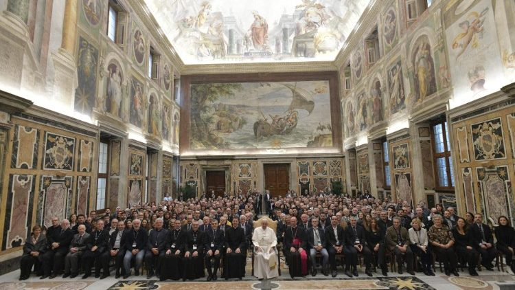 ĐTC gặp hiệp hội những nhà làm điện ảnh Công giáo Ý