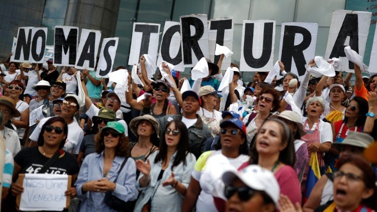 Ngày toàn quốc cầu nguyện cho cuộc khủng hoảng tại Venezuela