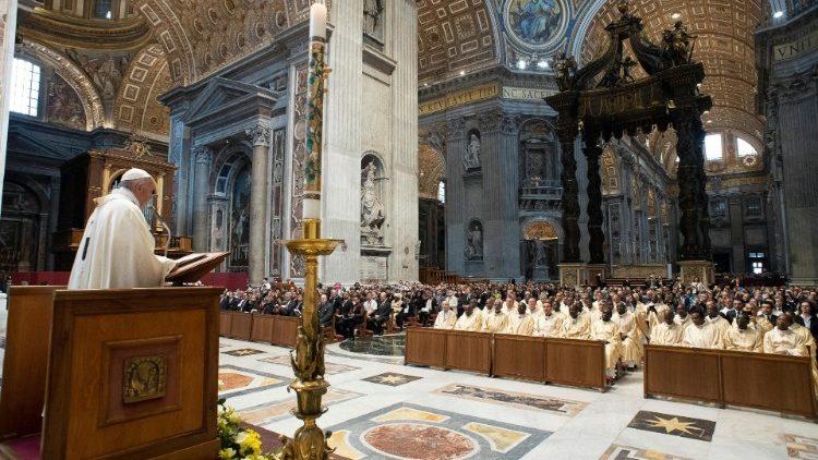 Thánh lễ khai mạc đại hội thứ 21 Caritas quốc tế