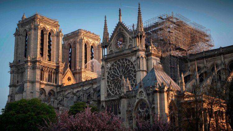 Tổng thống Mỹ Donald Trump gọi điện chia buồn với Đức Giáo Hoàng về vụ cháy nhà thờ Notre-Dame de Paris