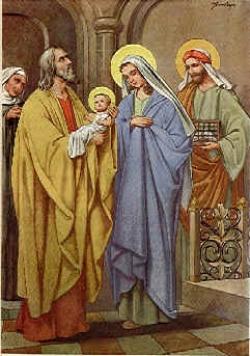 Dâng Chúa Giêsu trong Đền Thánh