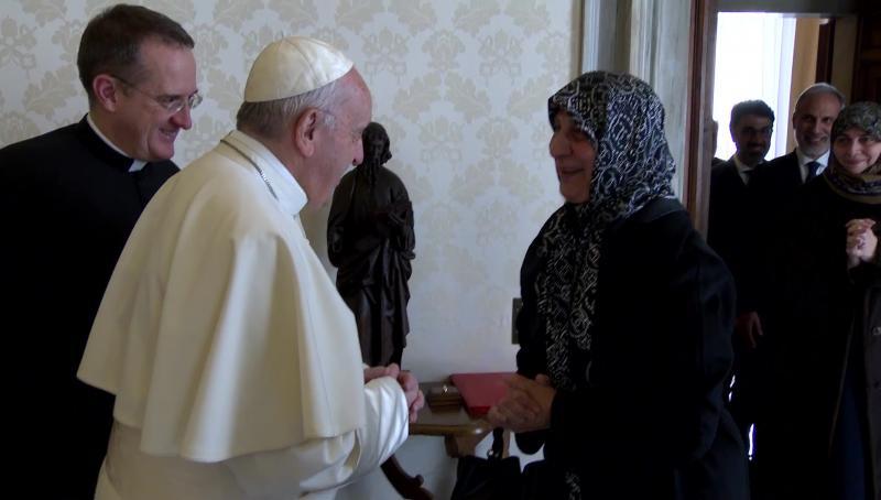 ĐGH Phanxicô đón tiếp chủ tịch tổ chức từ thiện Hồi giáo