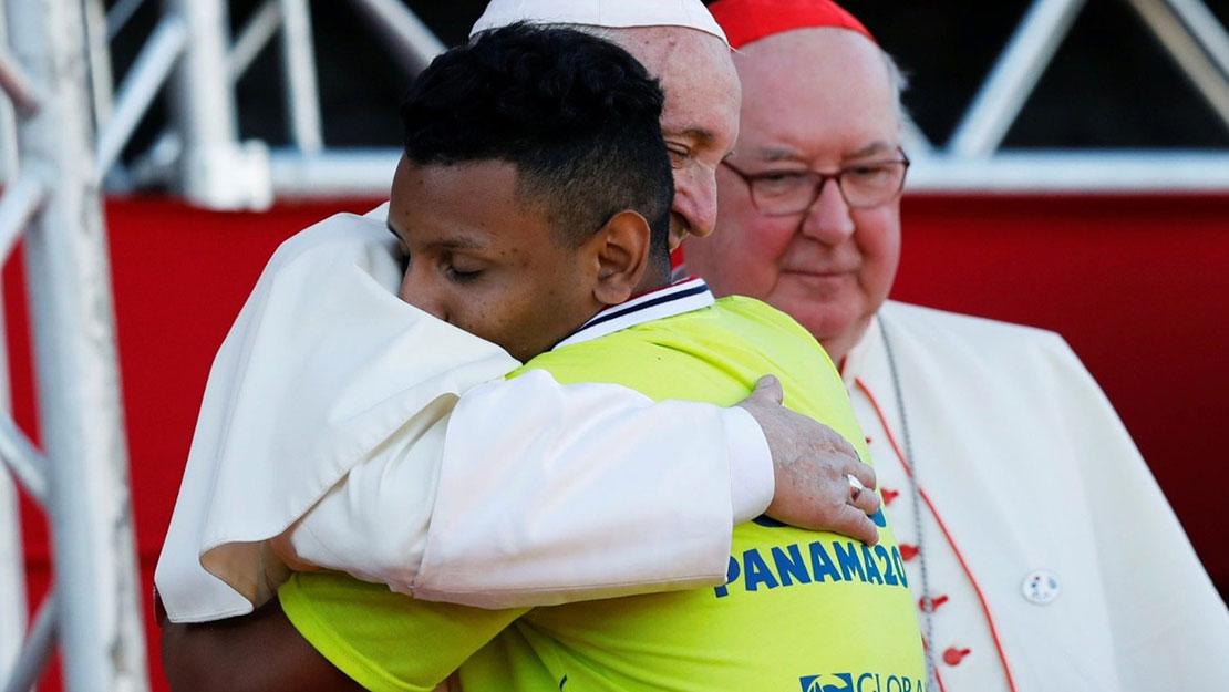 Diễn từ của Đức Thánh Cha với các tình nguyện viên tại Đại Hội Giới Trẻ Thế Giới Panama