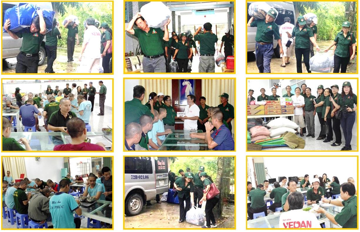 Đoàn CTXH Nghĩa Sinh: Tiếp giúp nhà nuôi dưỡng bệnh nhân tâm thần tại ấp Phú Thuận (Cần Thơ)