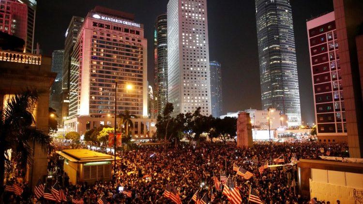 1/3 số người bị bắt ở Hồng Kông dưới 18 tuổi