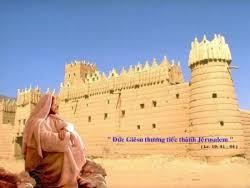 Đức Giêsu khóc thương thành Giêrusalem