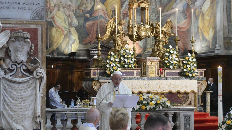 ĐTC Phanxicô cử hành Thánh lễ kính Lòng Chúa Thương xót