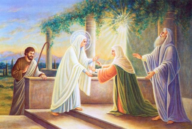 Đức Bà đi thăm viếng bà Elisabet