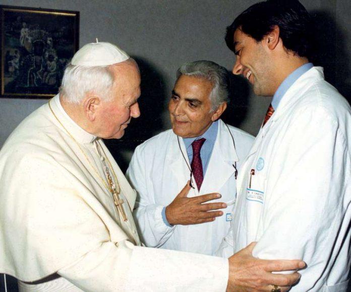 Đức Gioan-Phaolô II đã nói, giáo sư Crucitti đã cứu tôi