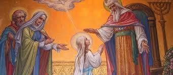 Đức Mẹ dâng mình cho Chúa