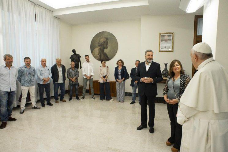 Đức Phanxicô tiếp các tù nhân của nhà tù nổi tiếng Rebibbia ở Rôma
