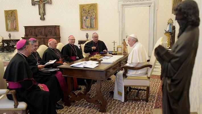 Đức Thánh Cha gặp phái đoàn của các Giám Mục Chí Lợi tại Vatican